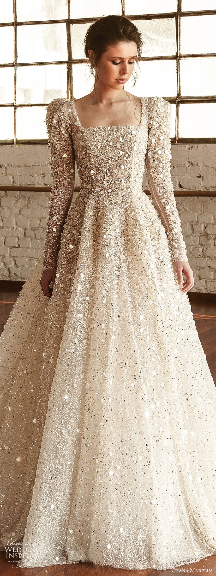 chana-marelus-fall-2019-bridal-long-puff-sleeves-square-straigh-across-neckline-fully-embellished-a-line-ball-gown-wedding-dress-1-glitzy-princess-romantic-cathedral-train-lv.jpg