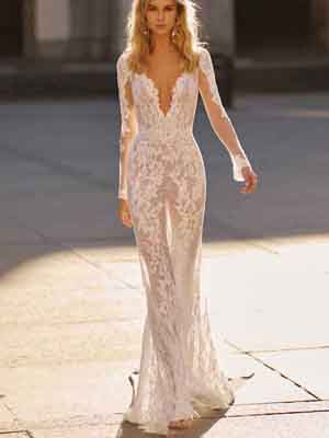 Style 20-16 Inspired By Berta Bridal Couture SS2020 Wedding Dresses
