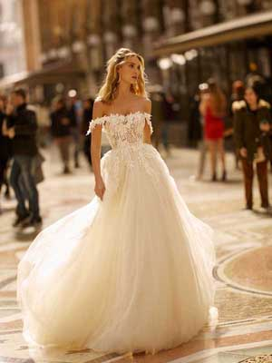 Style 20-15 Inspired By Berta Bridal Couture SS2020 Wedding Dresses