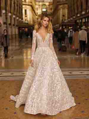Style 20-14 Inspired By Berta Bridal Couture SS2020 Wedding Dresses