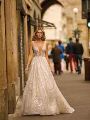 Style 20-12 Inspired By Berta Bridal Couture SS2020 Wedding Dresses