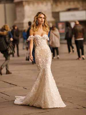 Style 20-11 Inspired By Berta Bridal Couture SS2020 Wedding Dresses