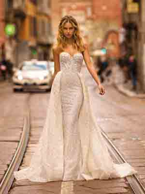 Style 20-08 Inspired By Berta Bridal Couture SS2020 Wedding Dresses