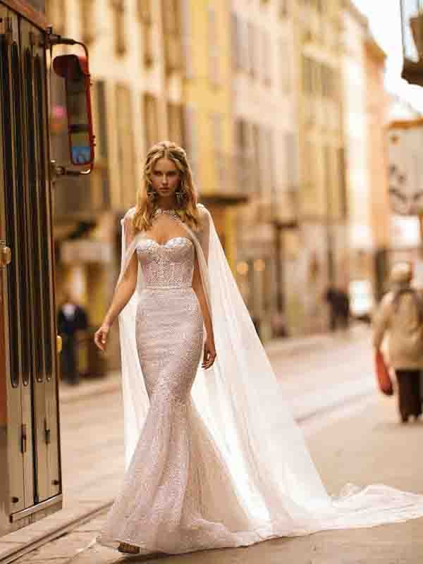 Style 20-05 Inspired By Berta Bridal Couture SS2020 Wedding Dresses