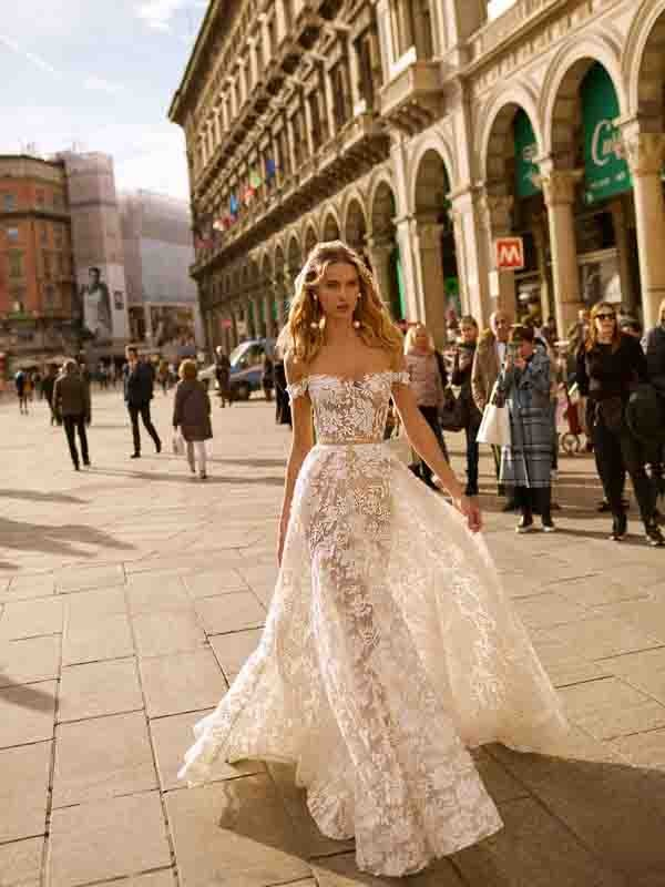 Style 20-04 Inspired By Berta Bridal Couture SS2020 Wedding Dresses