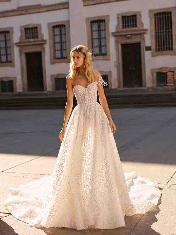 Style 20-03 Inspired By Berta Bridal Couture SS2020 Wedding Dresses