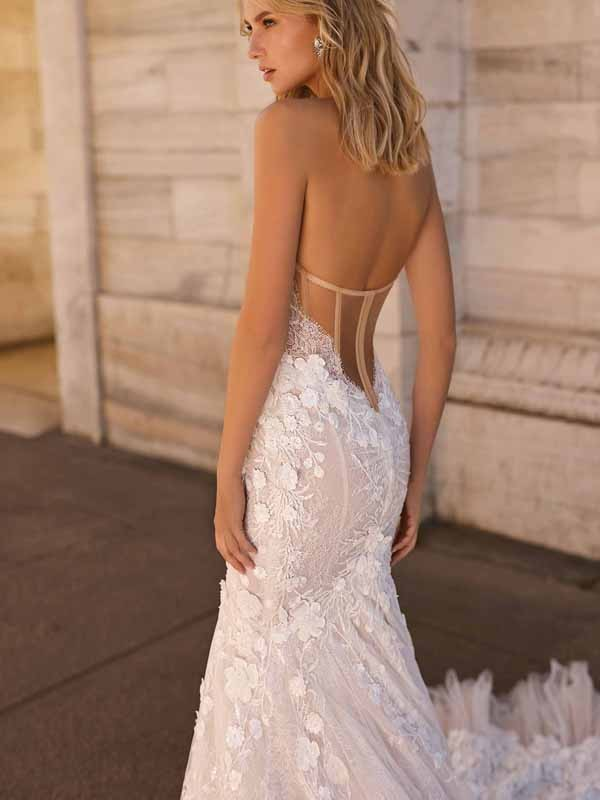 Style 20-01 Inspired By Berta Bridal Couture SS2020 Wedding Dresses