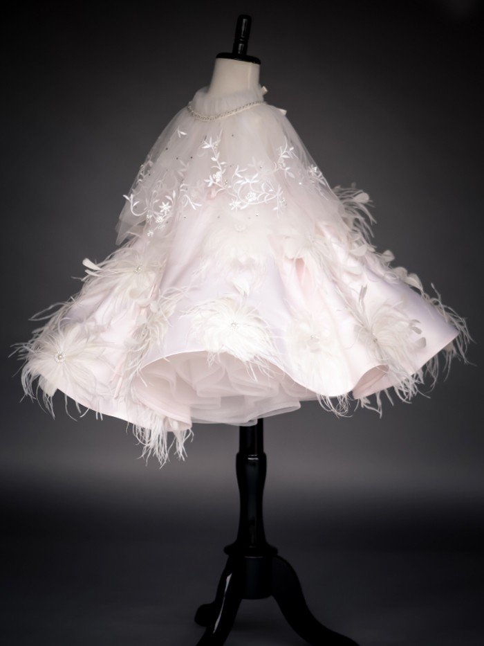 Swan Lake Inspired By AnnaTriant Couture Luxury Childern Couture Dress
