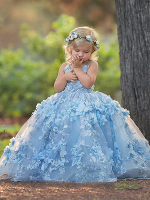 Skylar Inspired By AnnaTriant Couture Luxury Childern Couture Dress