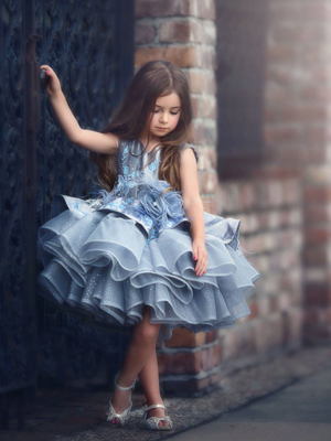 Pippa Inspired By AnnaTriant Couture Luxury Childern Couture Dress