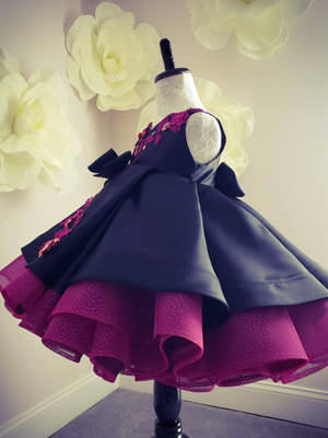 Penelope Inspired By AnnaTriant Couture Luxury Childern Couture Dress