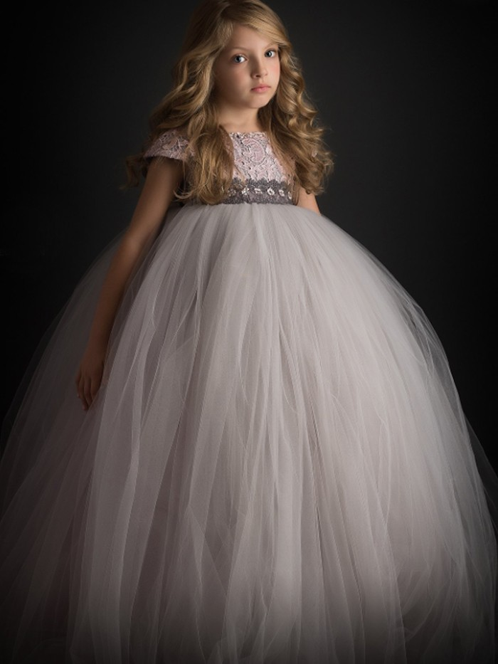 Mist Inspired By AnnaTriant Couture Luxury Childern Couture Dress