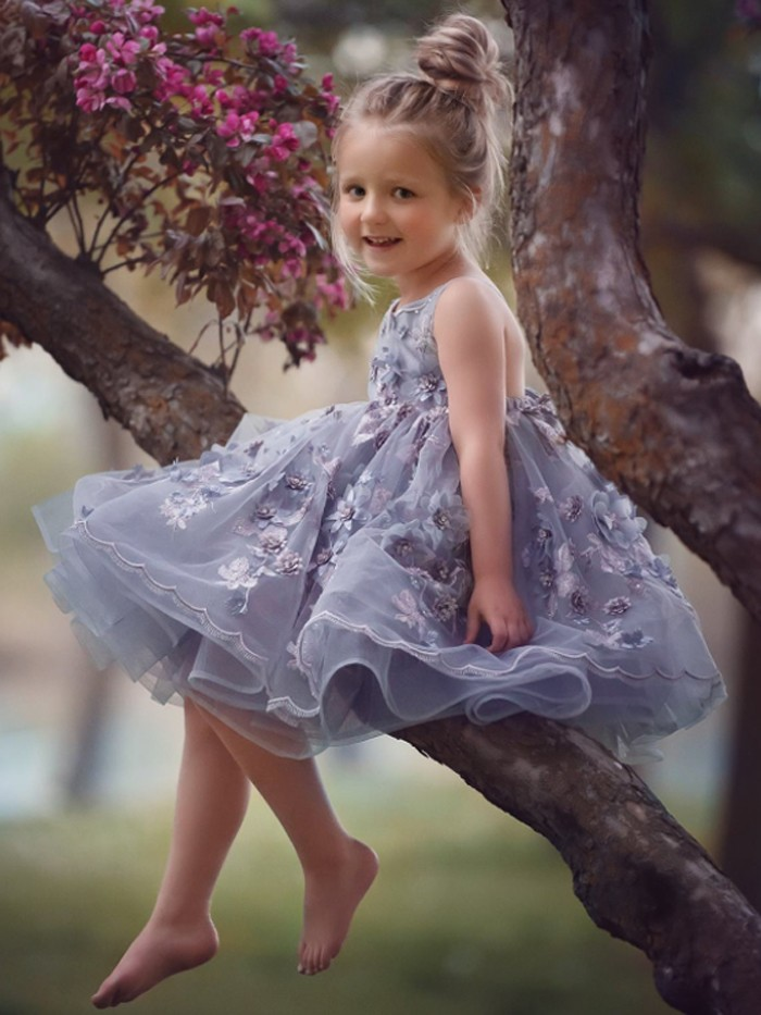 Jolie Inspired By AnnaTriant Couture Luxury Childern Couture Dress