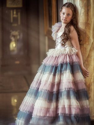 Ellie Inspired By AnnaTriant Couture Luxury Childern Couture Dress