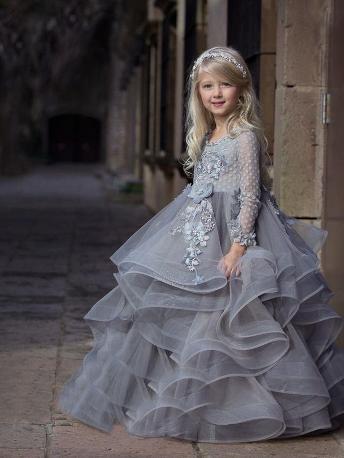 Dove Inspired By AnnaTriant Couture Luxury Childern Couture Dress