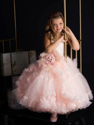 Distant Dreamer Short Inspired By AnnaTriant Couture Luxury Childern Couture Dress