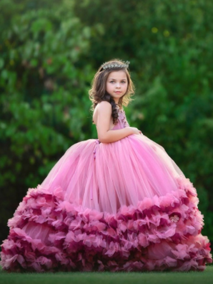 Callista Inspired By AnnaTriant Couture Luxury Childern Couture Dress