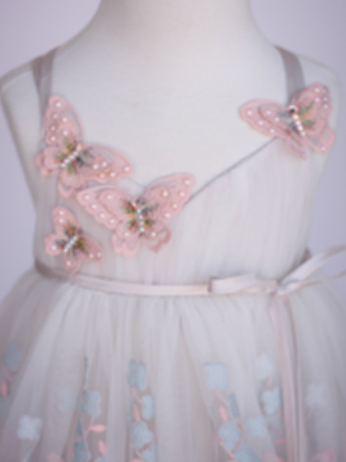 Butterfly Inspired By AnnaTriant Couture Luxury Childern Couture Dress