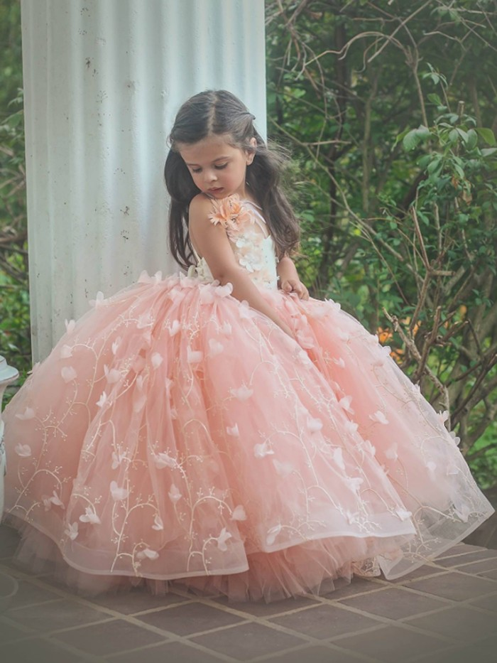 Amelia Inspired By AnnaTriant Couture Luxury Childern Couture Dress