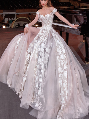 GAGA Inspired By Galia Lahav Bridal Couture Collection Make A Scene