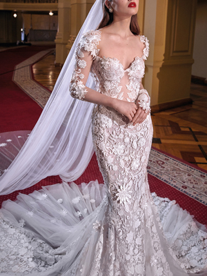 LINDSAY Inspired By Galia Lahav Bridal Couture Collection Make A Scene