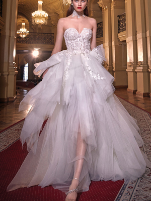 ALEXA Inspired By Galia Lahav Bridal Couture Collection Make A Scene
