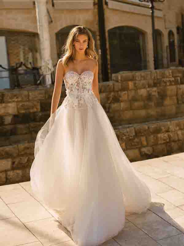 ELIZABETH Inspired By Muse 2020 TLV From Berta Bridal