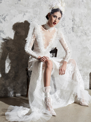 Look 1 Inspirated By Zuhair Murad Bridal Spring 2020 Wedding Dresses