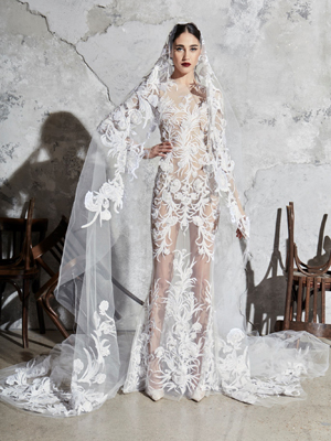 Look 12 Inspirated By Zuhair Murad Bridal Spring 2020 Wedding Dresses