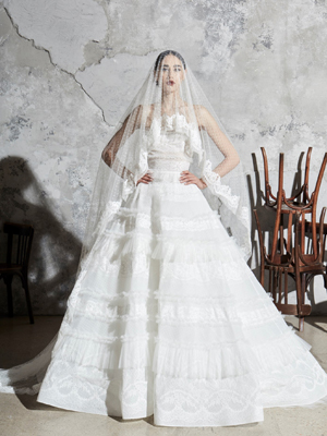 Look 4 Inspirated By Zuhair Murad Bridal Spring 2020 Wedding Dresses