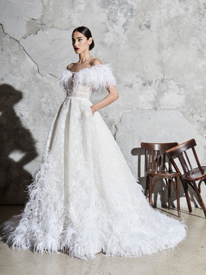 Look 7 Inspirated By Zuhair Murad Bridal Spring 2020 Wedding Dresses