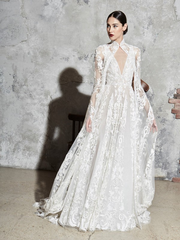 Look 8 Inspirated By Zuhair Murad Bridal Spring 2020 Wedding Dresses