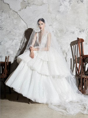 Look 13 Inspirated By Zuhair Murad Bridal Spring 2020 Wedding Dresses