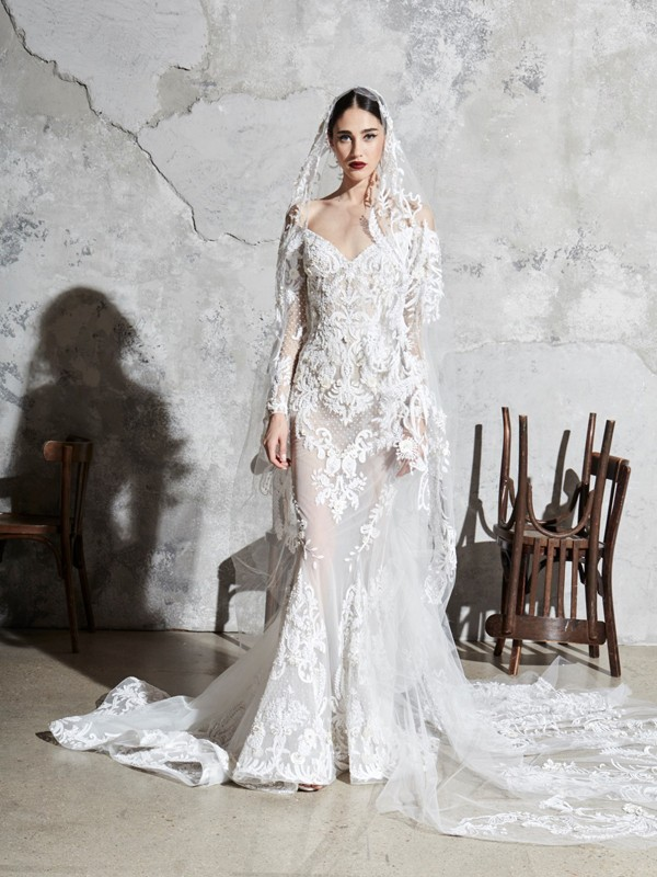 Look 20 Inspirated By Zuhair Murad Bridal Spring 2020 Wedding Dresses