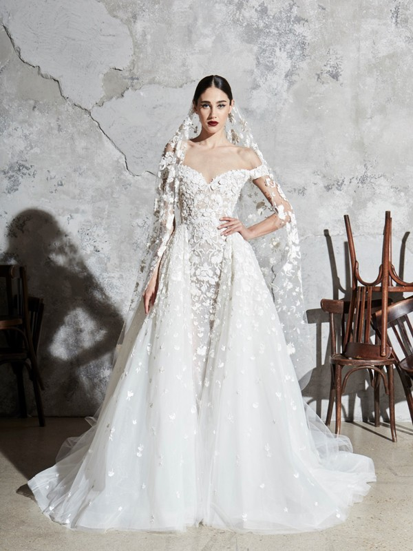 Look 23 Inspirated By Zuhair Murad Bridal Spring 2020 Wedding Dresses