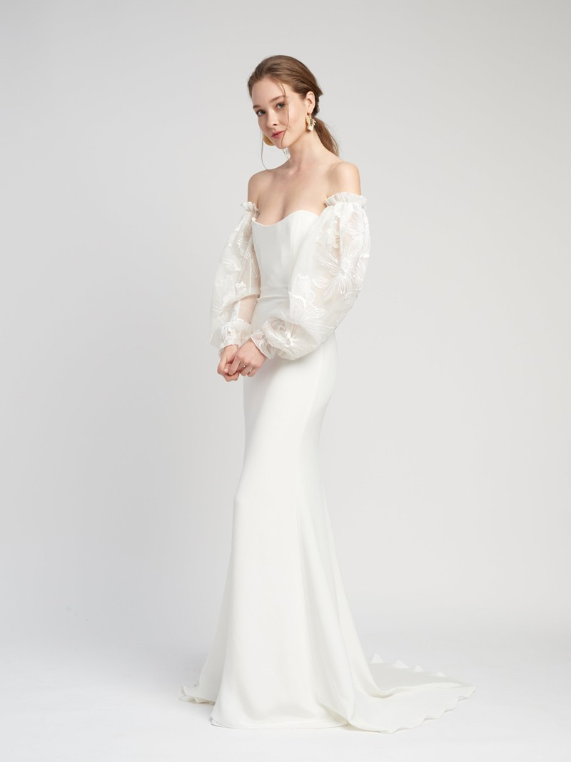 Reine Gown Inspirated By Lover of Mine of Alexandra Grecco 2020 Wedding Collection