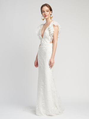 Elodie Gown Inspirated By Lover of Mine of Alexandra Grecco 2020 Wedding Collection