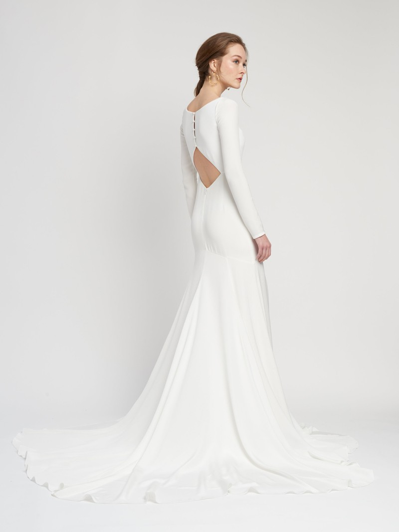 Ines Gown Inspirated By Lover of Mine of Alexandra Grecco 2020 Wedding Collection