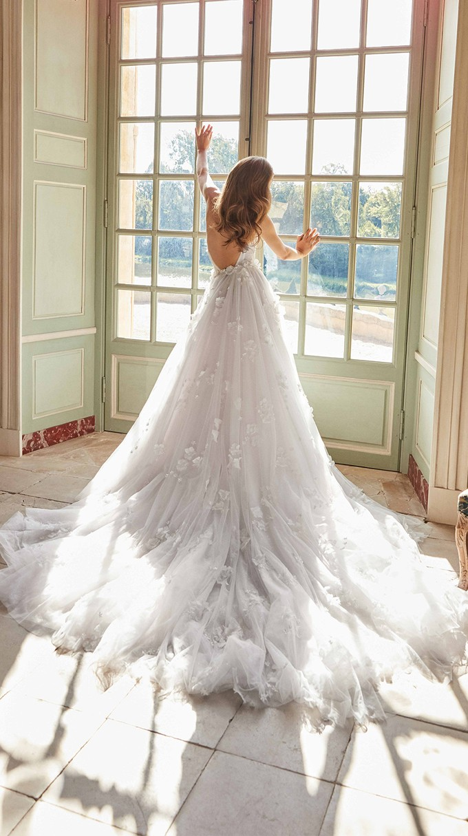 RUTH Inspirated By Fall 2020 Bridal Couture Collection Fancy White Of Galia Lahav