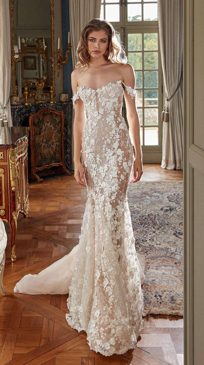 Maya Inspirated By Fall 2020 Bridal Couture Collection Fancy White Of Galia Lahav