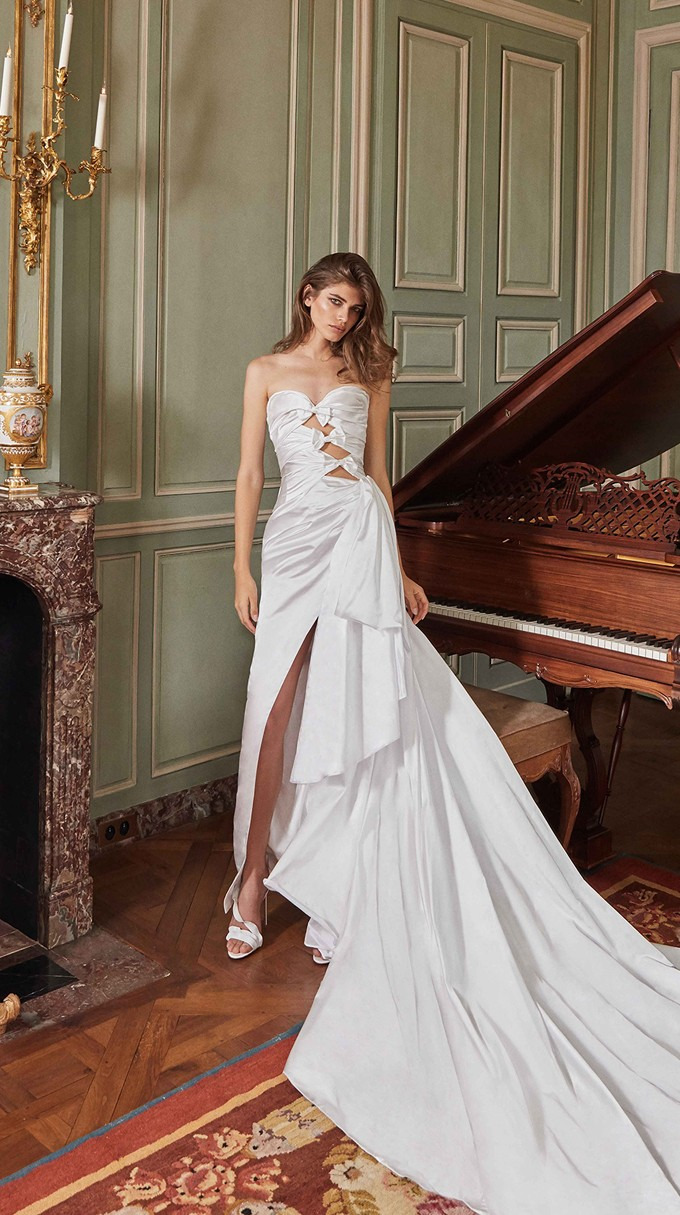 Margaret Inspirated By Fall 2020 Bridal Couture Collection Fancy White Of Galia Lahav