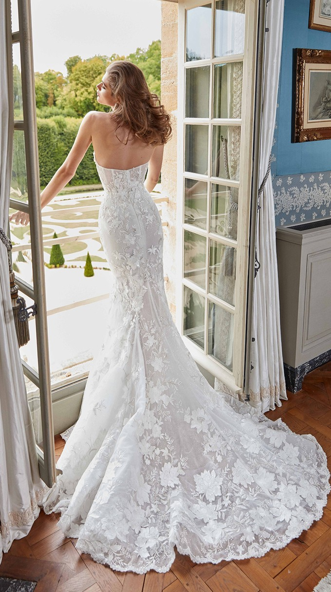 Judy Inspirated By Fall 2020 Bridal Couture Collection Fancy White Of Galia Lahav