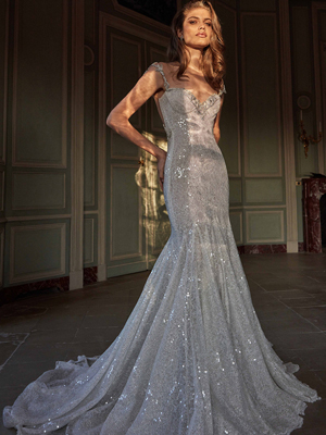ELLA Inspirated By Fall 2020 Bridal Couture Collection Fancy White Of Galia Lahav