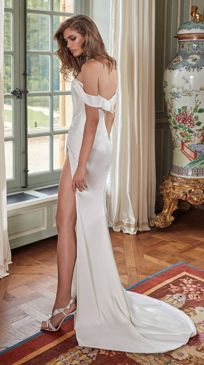 ANNA Inspirated By Fall 2020 Bridal Couture Collection Fancy White Of Galia Lahav