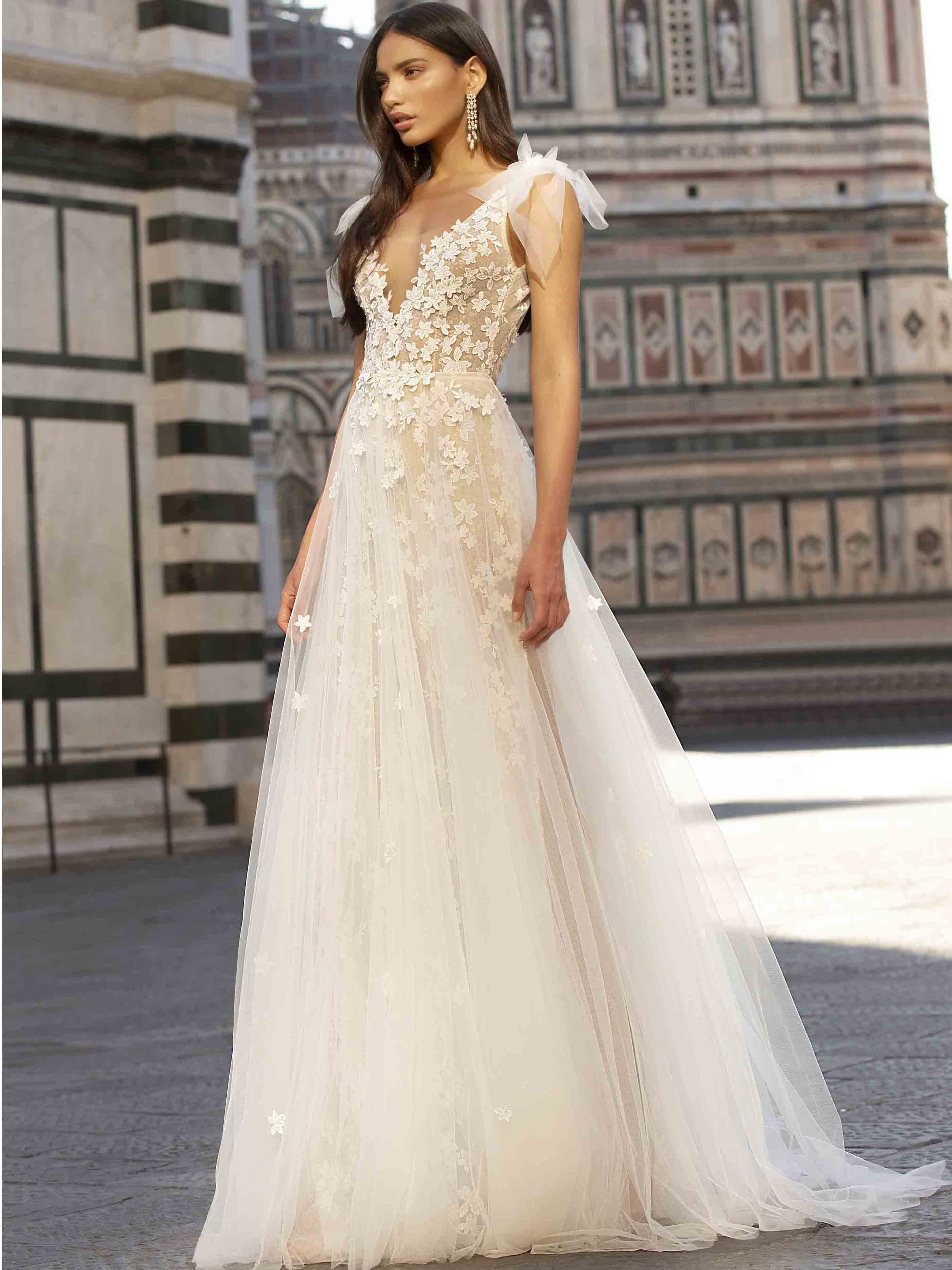 Dress Felicity Bridal Dress Inspirated By Muse  Berta 2020 Florence Collection