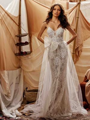 21-GWEN Bridal Dress Inspirated By Berta Muse2021 Desert Collection