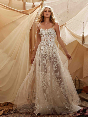 21-GABRIELA Bridal Dress Inspirated By Berta Muse2021 Desert Collection