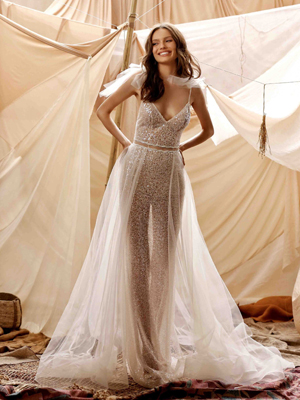 21-GEORGIA Bridal Dress Inspirated By Berta Muse2021 Desert Collection