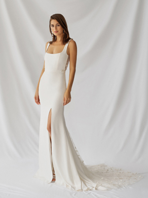 Laurel Gown Inspirated By Botanica of Alexandra Grecco 2021 Bridal Collection