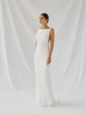 Viola Gown Inspirated By Botanica of Alexandra Grecco 2021 Bridal Collection